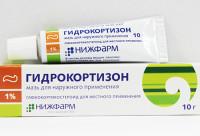 Лечение ячменя гидрокортизоновой мазью