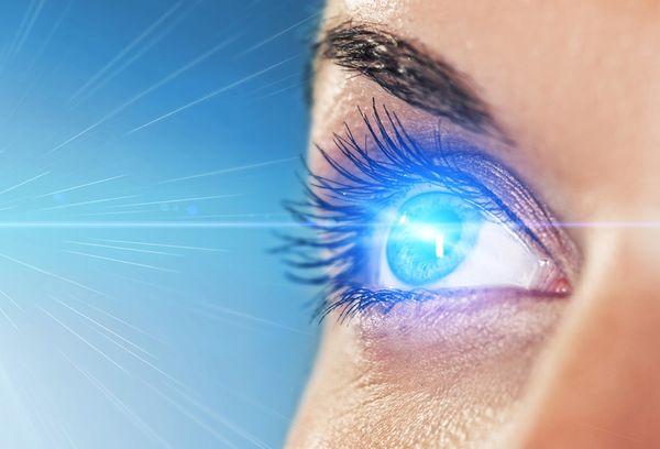 Облучение глаз