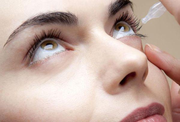 применение капель для глаз